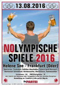 1. Nolympischen Spiele in Frankkfurt (Oder) am Helenesee
