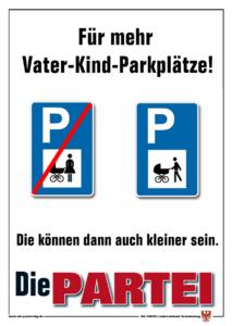 Vater-Kind-Parkplätze