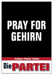 PRAY FOR GEHIRN - ffo